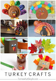 10 easy turkey crafts for somewhat simple