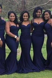 evening wedding bridesmaid dresses navy blue bridesmaid dresses on luulla