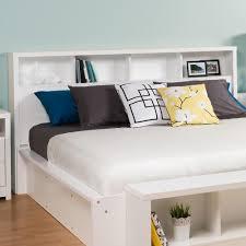 King Bed Frame With Headboard Prepac Calla White King Headboard Whfk 0500 1 The Home Depot