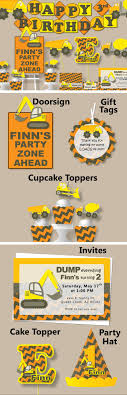 construction cake toppers best 25 construction party cakes ideas on digger