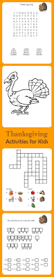 thanksgiving thanksgiving word search and activities