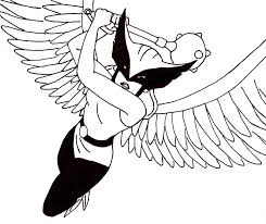 hawkgirl coloring pages 18 jpg 975 820 coloring 4 kids dc