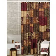 Curtain Ideas For Bathrooms Decoration Ideas Contemporary Black Metal Curtain Rod Also Black