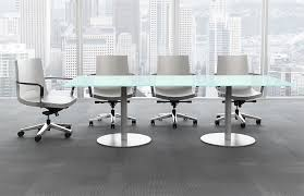 Contemporary Boardroom Tables Free Standing Desks Interior Office Systems
