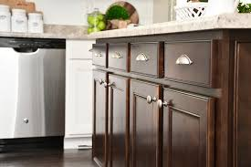 white cabinets dark kitchen island for your home