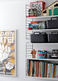 metalic shelves for a kids room time of aquarius kids