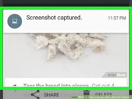 how to take a screen on an android 4 ways to take a screen screen capture wikihow
