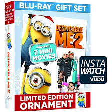 despicable me 2 limited edition dvd digital hd carl