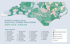North Carolina Map Of Cities And Towns A Guide To North Carolina U0027s Electric Power Providers Carolina