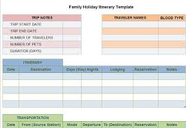 Free Travel Itinerary Template Excel Free Template Downloads Page 2 Free Microsoft Word Excel And