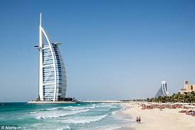 burj al arab hotel favoured by the rooneys offers guests 24 carat