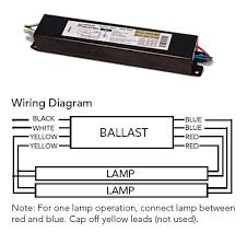 f96t12 ho t12 electronic fluorescent ballast runs 1 or 2 f96t12 ho