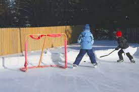 how to build a backyard hockey rink sun valley magazine sun