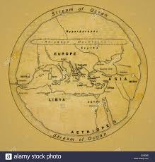 Ancient Map Of Africa by Ancient Map Of Europe North Africa And The Middle East Stock