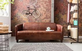 sofa leder braun mer enn 20 bra ideer om sofa leder braun på
