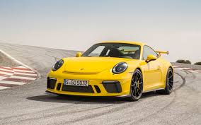 porsche racing wallpaper wallpaper porsche 911 gt3 racing yellow 2018 4k automotive