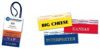 alumni ribbons stack a ribbon identification ribbon in stock titles at