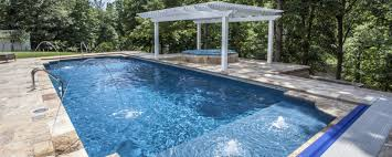 Swimming Pool Backyard by Pool Builder Richmond Mechanicsville Pool Construction