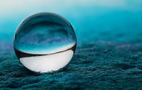 blue bubble waves wallpapers wallpaper sea water reflection grass sphere earth green