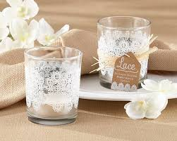 glass tea light holders set of four lace glass tea light holder by hope and willow