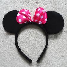 mickey mouse hair bow 1x fancy minnie mouse bow mickey mouse ears headband ears disney