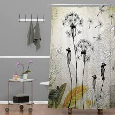 bathroom decorative shower curtains with extra long shower