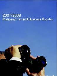 malaysian tax guide 2008 corporate tax expense