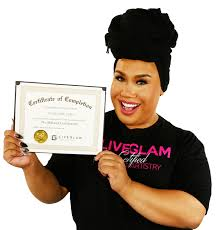 professional makeup artist certification starrr liveglam makeup starrr
