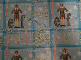 amazon com elf the movie christmas wrapping paper with will