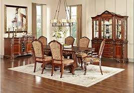 rooms to go kitchen furniture picture of newcastle 6 pc dining room from dining room sets