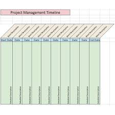 Timeline Spreadsheet Template Excel Sle Project Management Timeline Templates For Microsoft Office