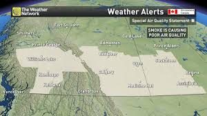 Bc Wildfire Weather by The Weather Network On Twitter