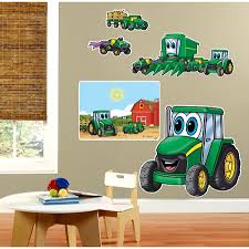 johnny tractor giant wall decals rungreen com