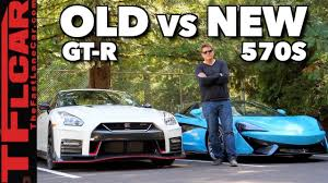 nissan gtr youtube review old vs new nissan gt r vs mclaren 570s review can godzilla still