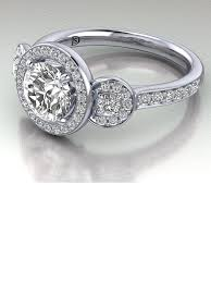 engagement ring with halo halo engagement ring with side stones halo engagement rings