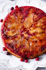 cranberry apple upside down cake sallys baking addiction