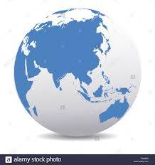 World Map Thailand by Asia China Japan World Earth Icon Globe Map Stock Photo Royalty