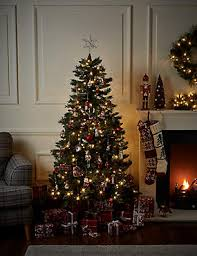 christmas trees artificial indoor u0026 outdoor christmas trees m u0026s