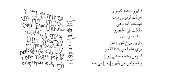 an amateur at best brief guide to the development of the arabic