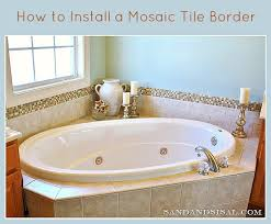 How To Install A Mosaic Tile Backsplash In The Kitchen How To Install A Marble Herringbone Fireplace Surround And Hearth