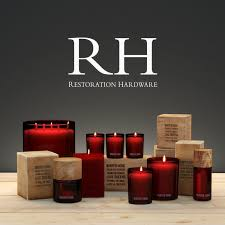 set of candles and fragrances for rooms by restoration hardware 3d