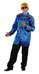 the beatles halloween costumes sgt pepper jacket adults fancy dress 60s beatles band mens costume