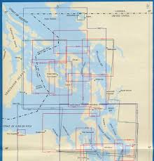 Sound Map Noaa Chart Index For Northern Puget Sound