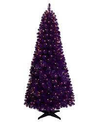 purple artificial christmas tree treetopia