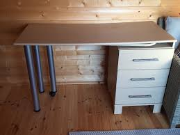 beech desk with 3 drawers and pull out table in stoke bishop