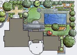 Landscape Floor Plan by Fredericksburg Landscape Design And Pool Revolutionary Gardens