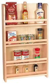 Contemporary Spice Racks Kitchen Cabinet Spice Storage