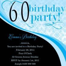 personalised 60th birthday invitations from impressive invitations