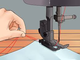 how to thread a necchi sewing machine with pictures wikihow