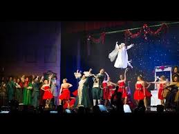 a christmas carol live fezziwig u0027s annual christmas ball scene 7a